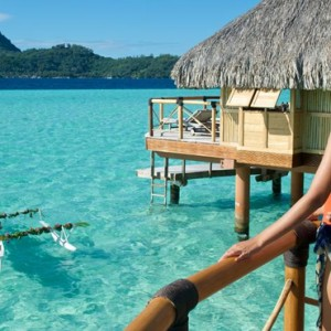 Otemanu View Over Water Suite 2 - Bora Bora Pearl Beach Resort - Luxury Bora Bora Honeymoon Packages