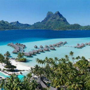 Otemanu View Over Water Suite - Bora Bora Pearl Beach Resort - Luxury Bora Bora Honeymoon Packages
