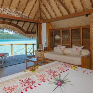 Overwater Suite 5 - Bora Bora Pearl Beach Resort - Luxury Bora Bora Honeymoon Packages
