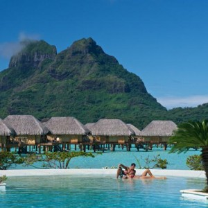 Pool 2 - Bora Bora Pearl Beach Resort - Luxury Bora Bora Honeymoon Packages
