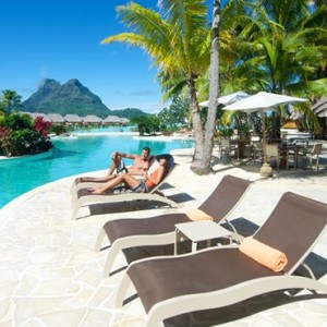 Pool - Bora Bora Pearl Beach Resort - Luxury Bora Bora Honeymoon Packages