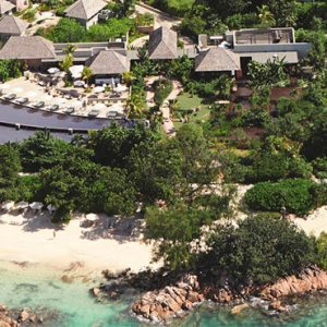 Seychelles Honeymoon Packages Raffles Seychelles Areial View