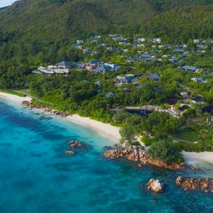 Seychelles Honeymoon Packages Raffles Seychelles Areial View 2