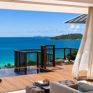 Seychelles Honeymoon Packages Raffles Seychelles Living Room View