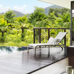 Seychelles Honeymoon Packages Raffles Seychelles Two Bedroom Beachfront Villa 2