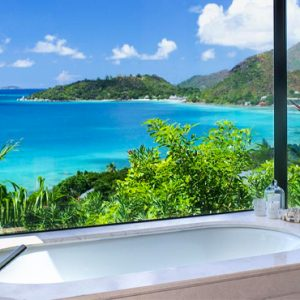 Seychelles Honeymoon Packages Raffles Seychelles Bath View Copy