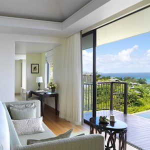 Seychelles Honeymoon Packages Raffles Seychelles Bedroom View 2