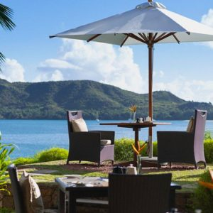 Seychelles Honeymoon Packages Raffles Seychelles Dining Views