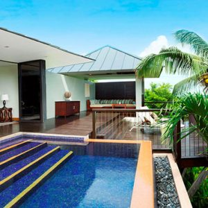 Seychelles Honeymoon Packages Raffles Seychelles Private Pool