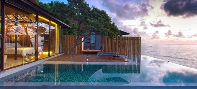 Silavadee pool spa resort koh samui honeymoon packages for Koh tao cabana koi pool villa