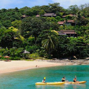 Thailand Honeymoon Packages The Tongsai Bay, Koh Samui Beach1