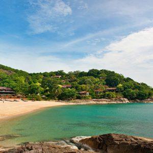 Thailand Honeymoon Packages The Tongsai Bay, Koh Samui Beach2