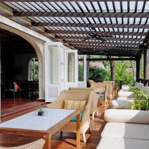Thailand Honeymoon Packages The Tongsai Bay, Koh Samui Lobby Terrace