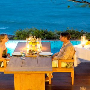 Thailand Honeymoon Packages The Tongsai Bay, Koh Samui Private Dining