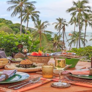 Thailand Honeymoon Packages The Tongsai Bay, Koh Samui Private Dining1
