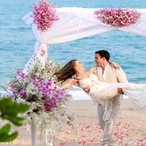 Thailand Honeymoon Packages The Tongsai Bay, Koh Samui Wedding