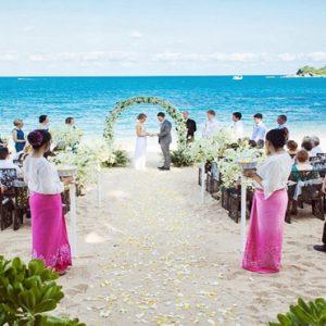 Thailand Honeymoon Packages The Tongsai Bay, Koh Samui Wedding1
