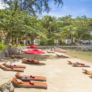 Thailand Honeymoon Packages Rockys Boutique Resort, Koh Samui Beach3
