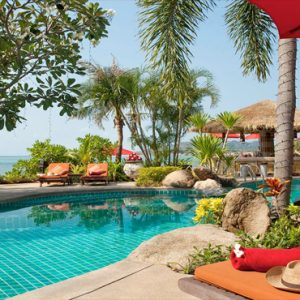 Thailand Honeymoon Packages Rockys Boutique Resort, Koh Samui Deluxe Beachfront Suites