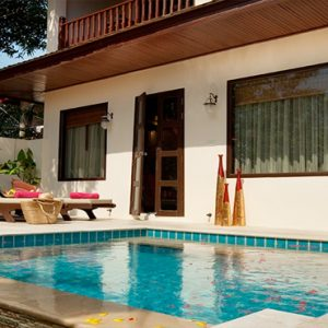 Thailand Honeymoon Packages Rockys Boutique Resort, Koh Samui Deluxe Thai Pool Villa1