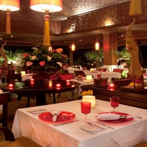 Thailand Honeymoon Packages Rockys Boutique Resort, Koh Samui Dining Room1