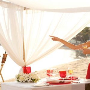 Thailand Honeymoon Packages Rockys Boutique Resort, Koh Samui Dinner On The Beach