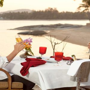 Thailand Honeymoon Packages Rockys Boutique Resort, Koh Samui Dinner On The Beach1