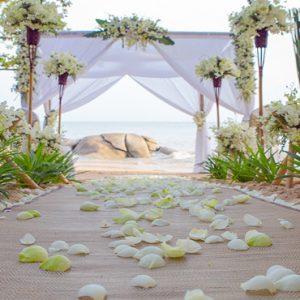 Thailand Honeymoon Packages Rockys Boutique Resort, Koh Samui Wedding1