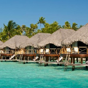 Water Villas - Bora Bora Pearl Beach Resort - Luxury Bora Bora Honeymoon Packages