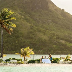 dining - Four Seasons Bora Bora - Luxury Bora Bora Honeymoon Packages