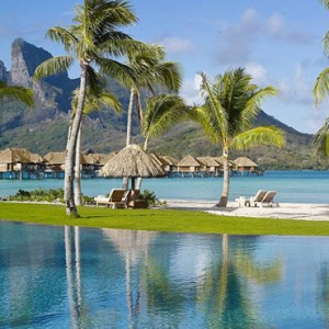 pool 2 - Four Seasons Bora Bora - Luxury Bora Bora Honeymoon Packages