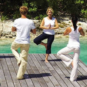 yoga 2 - Four Seasons Bora Bora - Luxury Bora Bora Honeymoon Packages