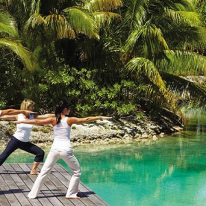yoga - Four Seasons Bora Bora - Luxury Bora Bora Honeymoon Packages
