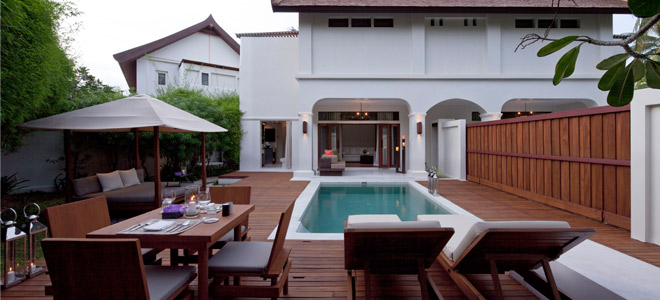 Sala samui resort koh samui honeymoon packages for Koh tao cabana koi pool villa