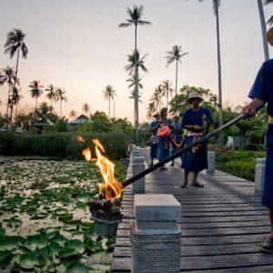 Thailand Honeymoon Package Anantara Mai Khao Phuket Villas Lighting Ceremony