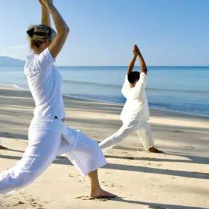 Thailand Honeymoon Package Anantara Mai Khao Phuket Villas Yoga