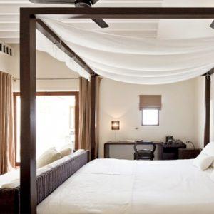 Thailand Honeymoon Packages SALA Samui Choengman Beach Resort Deluxe Balcony