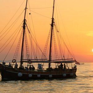 Thailand Honeymoon Packages SALA Samui Choengman Beach Resort Sunset Cruise