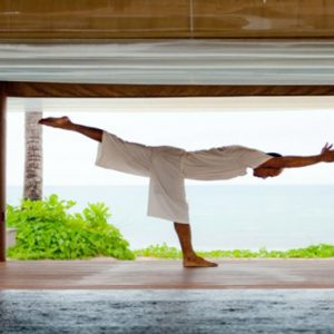 Thailand Honeymoon Packages SALA Samui Choengman Beach Resort Yoga1
