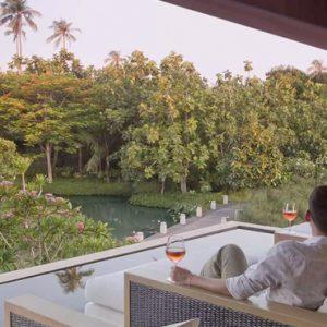 Thailand Honeymoon Packages Anantara Mai Khao Phuket Villas Couple Relaxing