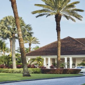 Bahamas Honeymoon Packages The Ocean Club, A Four Seasons Resort Hotel Entrance