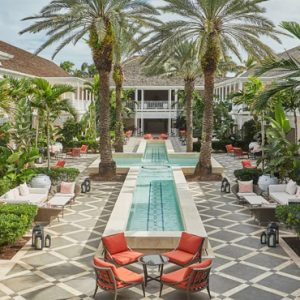 Bahamas Honeymoon Packages The Ocean Club, A Four Seasons Resort Lush Hartford Courtyard