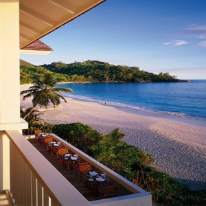 Banyan Tree Seychelles - Luxury Seychelles Honeymoon Packages - Beach view