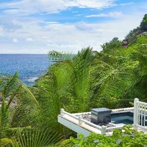 Banyan Tree Seychelles - Luxury Seychelles Honeymoon Packages - Intendance Bay View Pool Villa1