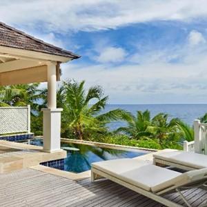 Banyan Tree Seychelles - Luxury Seychelles Honeymoon Packages - Ocean View Pool Villa exterior