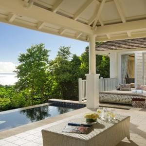 Banyan Tree Seychelles - Luxury Seychelles Honeymoon Packages - Ocean View Pool Villa exterior view