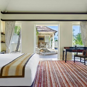 Banyan Tree Seychelles - Luxury Seychelles Honeymoon Packages - Ocean View Pool Villa interior bedroom