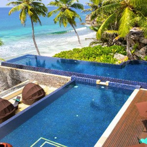 Banyan Tree Seychelles - Luxury Seychelles Honeymoon Packages - Pool bar