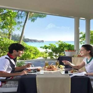 Banyan Tree Seychelles - Luxury Seychelles Honeymoon Packages - Private dining1