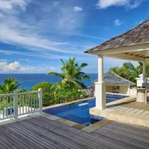 Banyan Tree Seychelles - Luxury Seychelles Honeymoon Packages - Sanctuary Ocean View Pool Villa